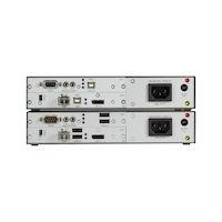 KVM Extender - DisplayPort 1.2 4K60, USB HID, USB 2.0, Serial, Audio, Single-mode Fiber