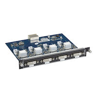 Modular Video Matrix Switcher Input Card - DVI-I Universal DVI, HDMI, VGA, Component, Composite, S-Video