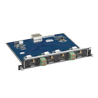 Modular Video Matrix Switcher Output Card - 4K, HDMI, Analog Audio