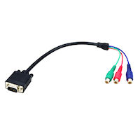 VGA to Component Adapter Cable - 40 cm