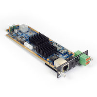 Modular Matrix Switcher Video Input Card HDBaseT 4K Audio IR