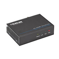 Video Extender - 4K, HDMI, IR, RS-232 Receiver