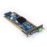 Modular Matrix Switcher Video Input Card VGA HD Audio