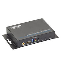 Component/Composite-to-HDMI Scaler and Converter with Audio