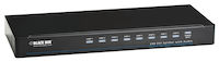 DVI-D Splitter with Audio and HDCP - 1x8