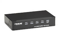 1 x 4 HDMI Splitter with Audio
