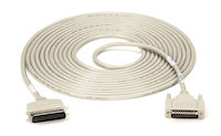Parallel Laser-Printer Cable - Centronics Male, DB25 Male, 25-ft.