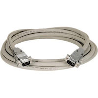 Video EGA Cable - DB9 (CL2), PVC, Male/Female, 5-ft.