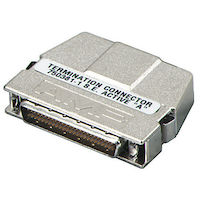 External SCSI Terminator Micro D50 Active Single-Ended