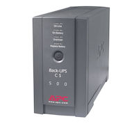 APC Back-UPS - 120V, 500VA, 300-Watt, 6-Outlet, Black