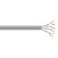 Connect CAT6 250-MHz Bulk Cable -  Solid, Unshielded, Plenum