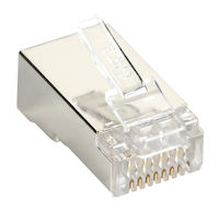 Cat6 Shielded Plug 100-Pack