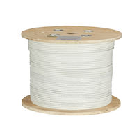 GigaTrue CAT6A 650-MHz Bulk Cable - Solid, Shielded, PVC