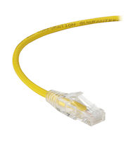 Slim-Net CAT6A 28-AWG 500-MHz Stranded Ethernet Patch Cable - Unshielded (UTP), PVC, Snagless Boots