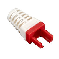 CAT6 EZ Boot - Red, 25-Pack