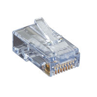 CAT6 EZ Unshielded Plug - 100-Pack