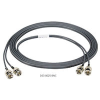 DS3 Dual Coax Cable - BNC, Male/Male, 25-ft.
