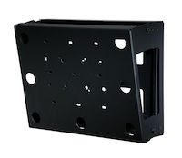 Peerless Flat/Tilt Wallmount with Media Device Storage