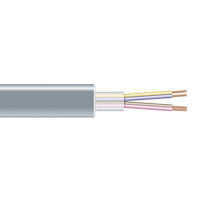RS-232 Bulk Serial Cable - Unshielded, PVC, 4-Conductor, 2000-ft.
