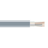 RS-232 Bulk Serial Cable - Unshielded, PVC, 7-Conductor, 500-ft.