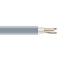 RS-232 Bulk Serial Cable - Unshielded, PVC, 4-Conductor, Custom Length