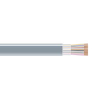 RS-232 Bulk Serial Cable - Unshielded, PVC, 25-Conductor, 500-ft. (152.4-m)