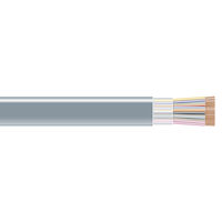 RS-232 Bulk Serial Cable - Unshielded, PVC, 25-Conductor, 1000-ft.