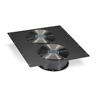 "Dual 10"" Fan (1100-cfm) Top Panel for Elite Cabinets"