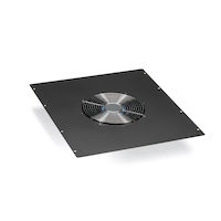 "Elite Cabinet Top Panel - Single 10"" Fan (550-cfm), 220 VAC"