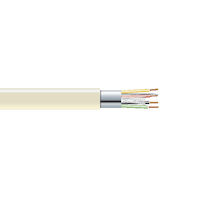 RS-232 Bulk Serial Cable - Shielded, PVC, 4-Conductor, 500-ft. (152.4-m)