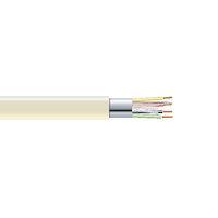 RS-232 Bulk Serial Cable - Shielded, PVC, 4-Conductor, Custom Length