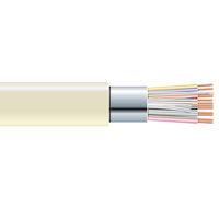 RS-232 Bulk Serial Cable - Shielded, PVC, 12-Conductor, 500-ft. (152.4-m)