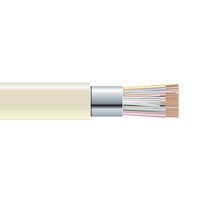 RS-232 Bulk Serial Cable - Shielded, PVC, 25-Conductor, Custom Length