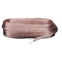 Speaker Wire - 18-AWG, Parallel Conductors, 100-ft.