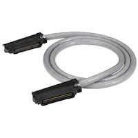 CAT5e Telco Patch Cable - Solid, Unshielded, PVC, 180° Hood Connector