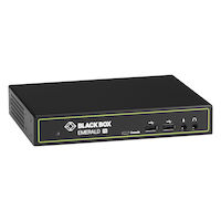 Emerald® PE KVM Extender Receiver with Virtual Machine Access - Single-Head, DVI-D, V-USB 2.0, Audio