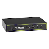 Emerald® SE DVI KVM-over-IP Extender Receiver - Single-Head, V-USB 2.0, Audio, Virtual Machine Access