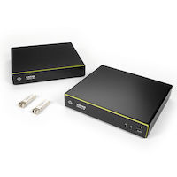 Emerald® 4K DisplayPort IP KVM Extender Kit - Single-Head, V-USB 2.0, Audio, Virtual Machine Access
