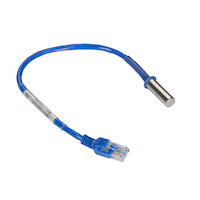 Environmental Monitoring System SNMP Temperature Sensor 1 ft. Fixed Cable