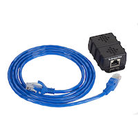 Environmental Monitoring System SNMP Temperature Sensor 5 ft. Fixed Cable
