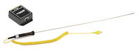 Alertwerks Environmental Monitoring System Thermocouple Probe and Adapter Kit, K-Type