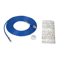 Environmental Monitoring System SNMP Waterproof Temperature Sensor with Pipe clamp 15 foot Cable