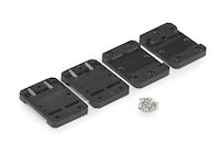AlertWerks DIN-Rail Mounting Brackets for Sensors - 1U