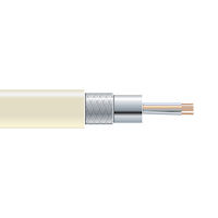 RS-232 Bulk Serial Cable - Double-Shielded, PVC, 4-Conductor, 500-ft. (152.4-m)