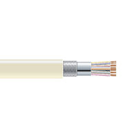 RS-232 Bulk Serial Cable - Double-Shielded, PVC, 16-Conductor, 500-ft. (152.4-m)