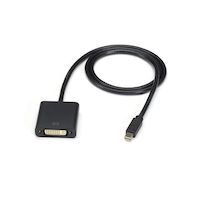 Mini-DisplayPort to DVI Cable - Male/Female, 10-ft.