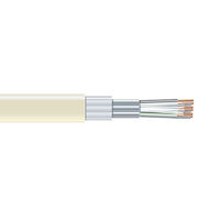 Individually Shielded Low-Capacitance Cable, Extra Distance, PVC Jacket, 6 Conductors (3 Pairs), Custom Lengths