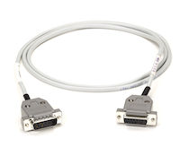 T1 Cable - DB15 Male to DB15 Female, Straight-Pinned, 5-ft.