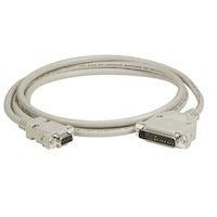 AT Serial Printer Null-Modem (CL2) Cable - DB25 Male/DB9 Female, Custom Length