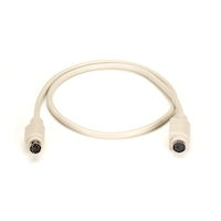 6-Pin Mini DIN Cable (CL2), Female/Female, 6-ft. (1.8-m)